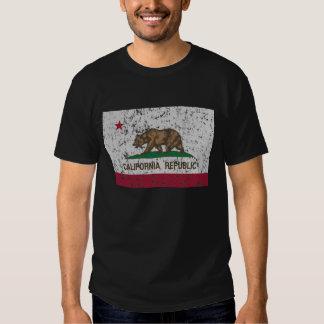 Vintage Flag of California State Tshirts