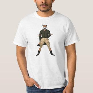 vintage fox hunting tshirt