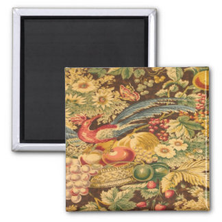 Vintage French Country Bird Butterfly Magnet
