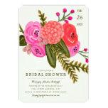Vintage Garden Bridal Shower 13 Cm X 18 Cm Invitation Card