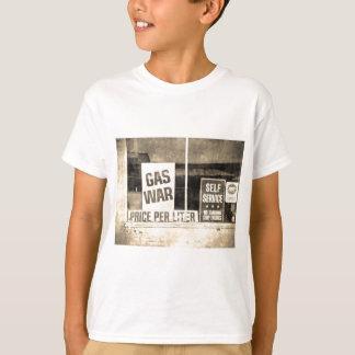 Vintage Gas War Sign Shirts