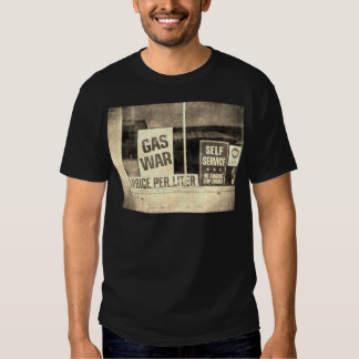 Vintage Gas War Sign T-shirt