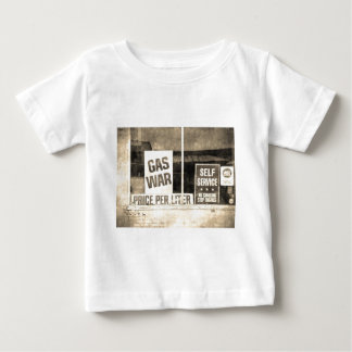 Vintage Gas War Sign Tee Shirts
