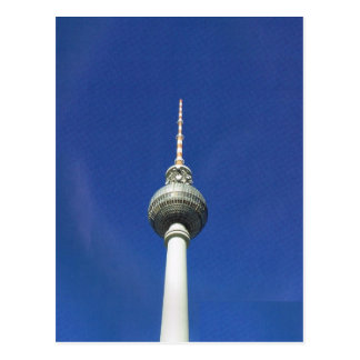 Vintage Germany, Berlin, TV tower Postcard