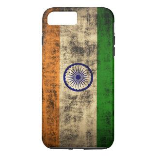 Vintage Grunge Flag of India iPhone 7 Plus Case