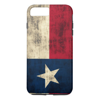 Vintage Grunge Flag of Texas iPhone 7 Plus Case