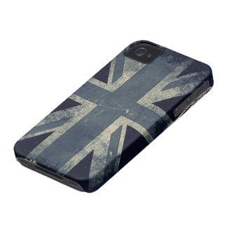 Vintage Grunge UK Flag iPhone 4 Case-Mate Cases