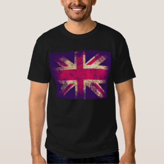 Vintage Grunge UK Flag T-shirt