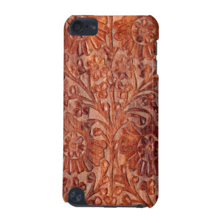 Vintage Hand Carved Wood iPod Touch 5G Cover