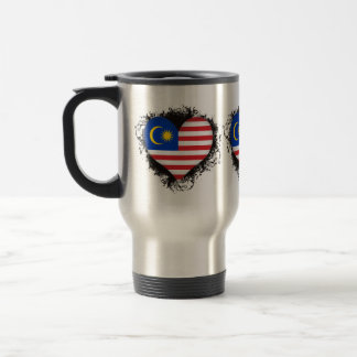 Vintage I Love Malaysia Stainless Steel Travel Mug