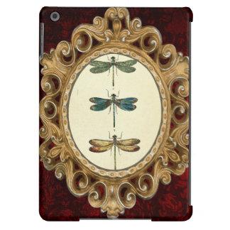 Vintage Illustration, Three Dragonflies iPad Air Covers