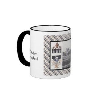 Vintage image, historic Oxford Cathedral Ringer Mug