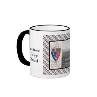 Vintage image, Pembroke, Oxford Ringer Mug