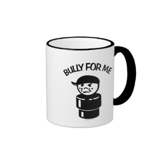 Vintage Little People Tough Kid - Bully For Me Ringer Mug