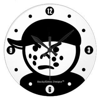 Vintage Little People Tough Kid Bully Wall Clocks