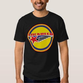 Vintage lockheed aircraft sign shirts