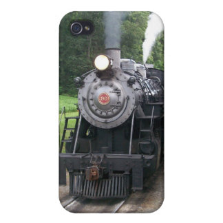 Vintage Locomotive Train i iPhone 4/4S Covers