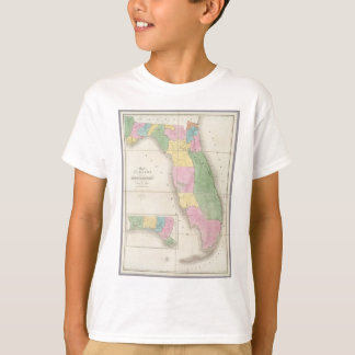 Vintage Map of Florida (1839) T Shirts