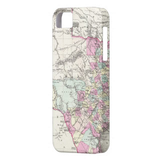 Vintage Map of Texas (1855) iPhone 5 Cover