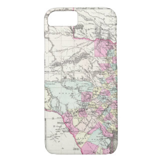 Vintage Map of Texas (1855) iPhone 7 Case