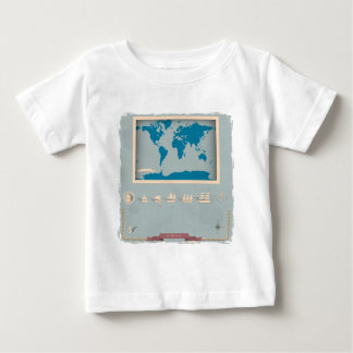 Vintage Nautical Map Products Shirts