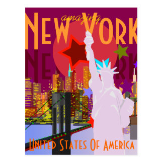 Vintage New York Travel Postcard