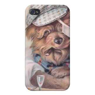 Vintage Old Salty Dog 4  Covers For iPhone 4