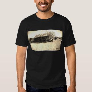 Vintage Old West Cabin Tshirt