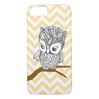 Vintage Owl iPhone 7 case