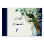 Vintage Peacock, Feathers n Etchings - Invitation Note Card