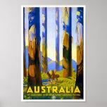 Vintage Poster Print Au