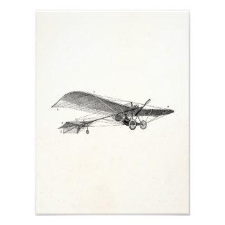Vintage Propeller Airplane Retro Old Prop Plane Photographic Print