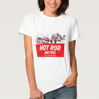 Vintage Retro Kitsch 50s Hot Rod Motors Tee Shirt
