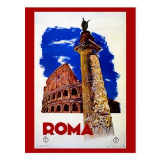 Vintage Roma Rome Italian travel Postcard