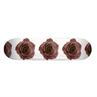 vintage rose elegant simple chic flower beautiful 20 cm skateboard deck
