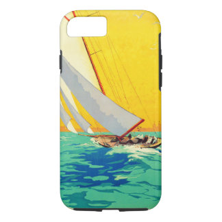Vintage Sail Boats French Travel iPhone 7 Case