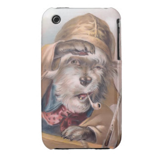 Vintage Salty Sea Dog iPhone 3G Barely-There iPhone 3 Cases