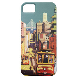 Vintage San Francisco Barely There iPhone 5 Case