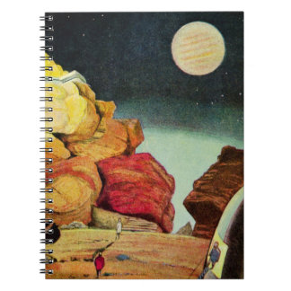 Vintage Science Fiction Quarry Planet Travelers Notebook