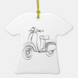 Vintage Scooter Ceramic T-Shirt Decoration