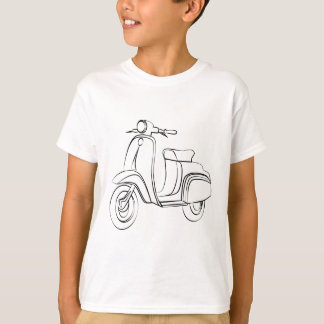 Vintage Scooter T-shirts