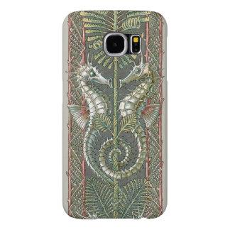 Vintage Seahorses Marine Animals, Art Nouveau Samsung Galaxy S6 Cases