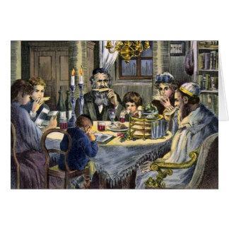Vintage Seder Greeting Card