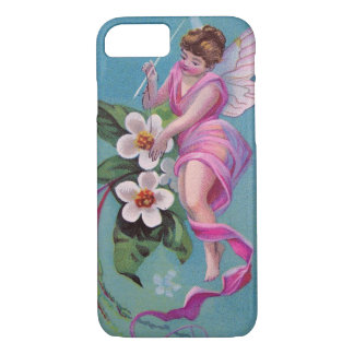 Vintage Sewing Fairy iPhone 7 Case