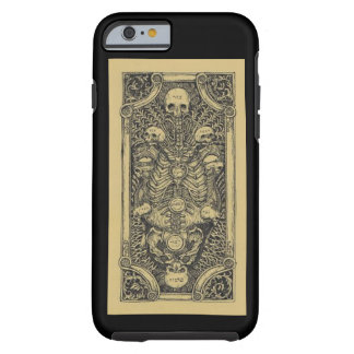 Vintage Skeleton Tree of Life Occult Tough iPhone 6 Case