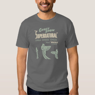 "Vintage Spook Show ""Supernatural"" Ghost Show Shirt"