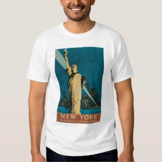 Vintage Statue of Liberty, New York City Shirt