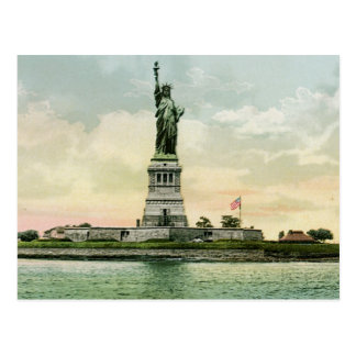 "Vintage ""Statue of Liberty"" Poster. New York. Postcard"