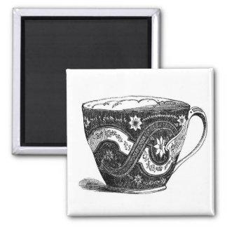 Vintage Tea Cup Mid 1880's Fridge Magnet