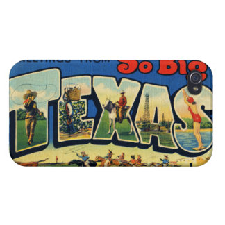 Vintage Texas Case For iPhone 4